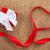 ギフト · リボン · 心臓の形態 · 素朴な · 石 · 結婚式 - ストックフォト © karandaev