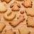 pão · de · especiarias · bolinhos · mesa · de · madeira · cópia · espaço · árvore - foto stock © karandaev