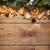 christmas wooden background with snow fir tree spices gingerbr stock photo © karandaev