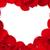 rosso · cuore · petali · isolato · bianco · bellezza - foto d'archivio © karandaev