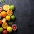 fresh ripe citruses lemons limes and oranges stock photo © karandaev
