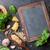 pesto · molho · ingredientes · vintage · saúde · fundo - foto stock © karandaev