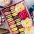 kleurrijk · vak · geschenkdoos · steen · tabel · zoete - stockfoto © karandaev