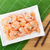 cooked shrimps and chopsticks stock photo © karandaev