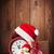Рождества · шкатулке · будильник · снега · подарок · изолированный - Сток-фото © karandaev