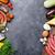 肉 · 製品 · スパイス · 表 · 食品 - ストックフォト © karandaev