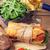 Бутерброды · Салат · продовольствие · зеленый · сэндвич · томатный - Сток-фото © karandaev