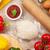 pizza · cocina · ingredientes · hortalizas · especias · superior - foto stock © karandaev