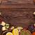 különböző · fűszer · fából · készült · felső · kilátás · copy · space - stock fotó © karandaev