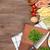 пасты · приготовления · Ингредиенты · таблице · деревянный · стол - Сток-фото © karandaev