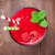 ahududu · iki · yüzlü · kırmızı · mavi · gıda · sağlık - stok fotoğraf © karandaev