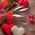 red roses hearts and champagne glasses stock photo © karandaev