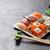 set · japanese · sushi · tradizionale · cibo · giapponese · pesce - foto d'archivio © karandaev