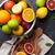 цитрусовые · лимоны · апельсинов · выстрел - Сток-фото © karandaev