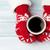 female hands holding hot coffee stock photo © karandaev