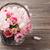 tulipas · cartão · roxo · velho · madeira - foto stock © karandaev