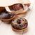ドーナツ · 紙袋 · 木製のテーブル · 先頭 · 表示 · コピースペース - ストックフォト © karandaev