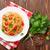 spaghetti · isolato · bianco · sfondo · pasta - foto d'archivio © karandaev