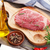 raw beef steak and spices stock photo © karandaev