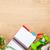 巻き尺 · 健康食品 · 帳 · コピースペース · フィットネス · 健康 - ストックフォト © karandaev