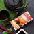 groene · wasabi · keramische · lepel · voedsel · gezondheid - stockfoto © karandaev