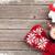 karácsony · forró · csokoládé · mályvacukor · fenyőfa · felső · kilátás - stock fotó © karandaev