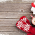 Navidad · chocolate · caliente · malvavisco · superior · vista - foto stock © karandaev