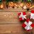 advento · bolinhos · caixas · de · presente · natal · canela · calendário - foto stock © karandaev