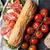 mozzarella · queso · pan · edad - foto stock © karandaev