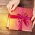женщины · рук · открытие · Рождества · подарок - Сток-фото © karandaev