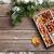 karácsonyi · étel · dekoráció · mézeskalács · sütik · karácsony · főzés - stock fotó © karandaev