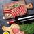 crudo · carne · salchichas · luz · fondo - foto stock © karandaev