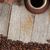 чашку · кофе · специи · деревянный · стол · текстуры · копия · пространства - Сток-фото © karandaev