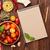 olasz · étel · főzés · hozzávalók · tészta · zöldségek · fűszer - stock fotó © karandaev