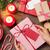 Noël · présente · cookie · haut · vue · table · en · bois - photo stock © karandaev