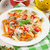 colorful pasta and and white wine stock photo © karandaev