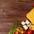 İtalyan · gıda · pişirme · malzemeler · sebze · peynir · baharatlar - stok fotoğraf © karandaev