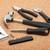 set of tools on cork background stock photo © karandaev