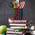 escuela · aula · mesa · pizarra · alimentos - foto stock © karandaev