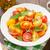 kleurrijk · tomaat · salade · basilicum · groene · Geel - stockfoto © karandaev