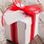 ajándék · doboz · szalag · címke · 3d · render · doboz · kártya - stock fotó © karandaev