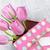 ピンク · チューリップ · 花 · 花束 · ギフトボックス · 新鮮な - ストックフォト © karandaev