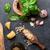 fresco · pesto · manjericão · alho - foto stock © karandaev