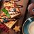 kawy · słodycze · górę · widoku · żywności · czekolady - zdjęcia stock © karandaev