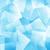 abstract · patroon · vierkante · helling · Blauw · business - stockfoto © karandaev