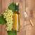 виноград · деревянный · стол · вино · фон - Сток-фото © karandaev