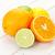cítrico · frutas · laranjas · limões · mesa · de · madeira · cópia · espaço - foto stock © karandaev