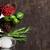 hierbas · cucharas · oscuro · espacio · de · la · copia · superior - foto stock © karandaev