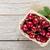 ripe cherries on wooden table stock photo © karandaev