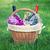 gafas · vino · botellas · vidrio · fondo · verde - foto stock © karandaev